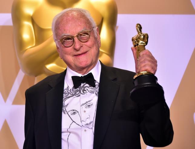 James Ivory con l'Oscar
