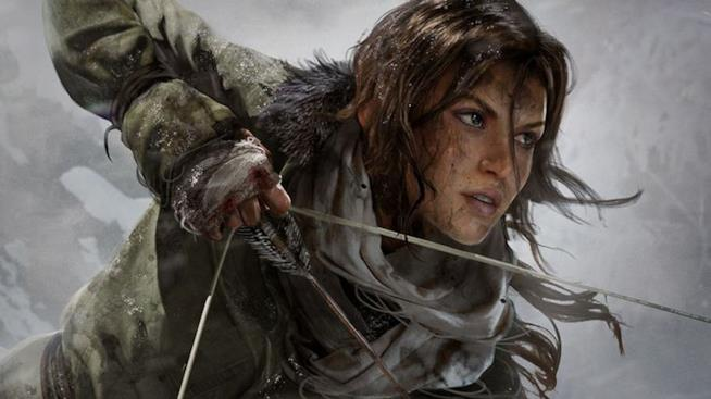 Lara Croft in azione in Rise of the Tomb Raider