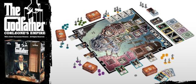 Pronti a giocare, il tabellone de Il Padrino: L'Impero Dei Corleone