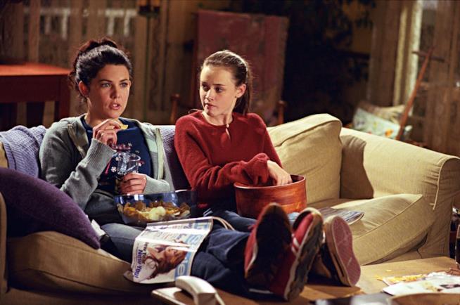 Gilmore Girls sul divano