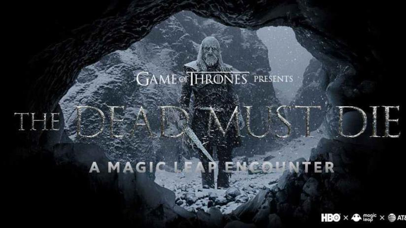 Immagine promozionale di The Dead Must Die, il gioco AR di Game of Thrones