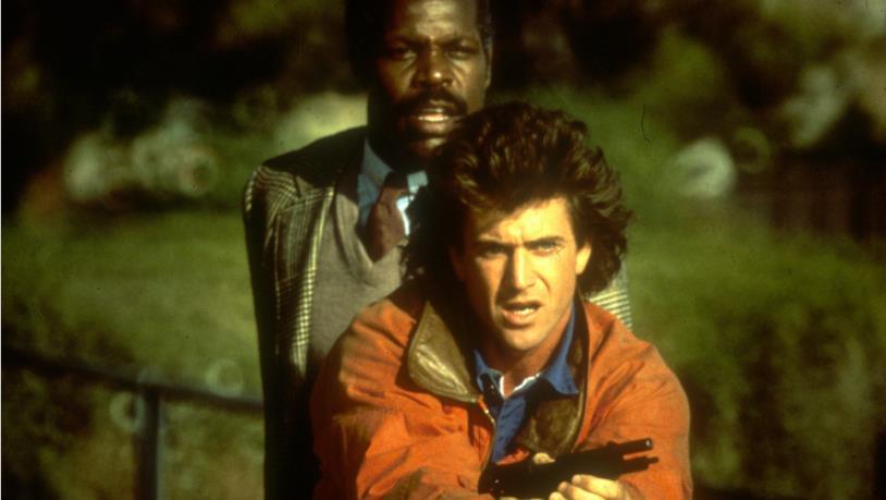 Mel Gibson e Danny Glover, coppia di sbirri in Arma Letale