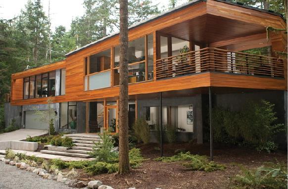 L'abitazione che funge da casa Cullen
