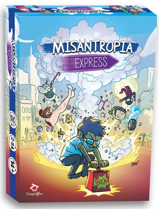 La scatola di Misantropia Express