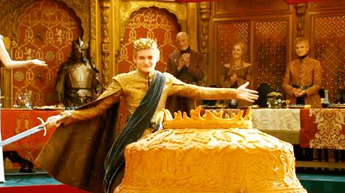 Una scena del matrimonio di Joffrey e Margaery