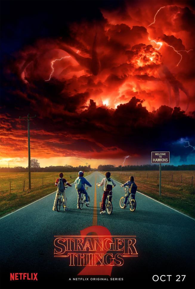 Arriva il 27 ottobre la seconda stagione della serie Stranger Things
