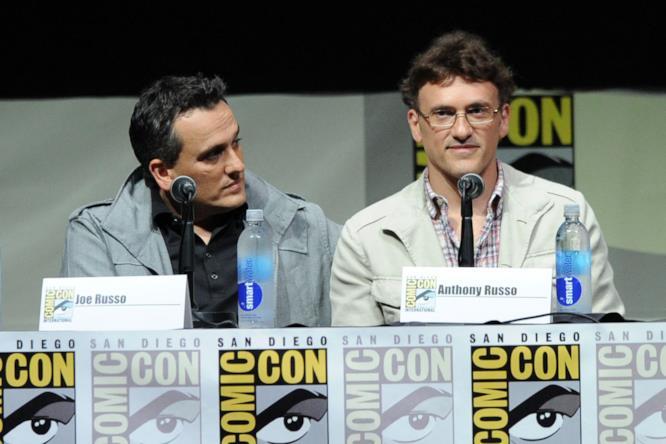 Anthony e Joe Russo al Comic-Con di San Diego