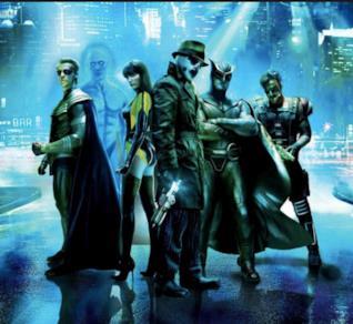 Un'immagine del gruppo di Watchmen