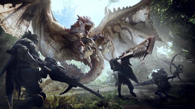 Concept art di Monster Hunter World