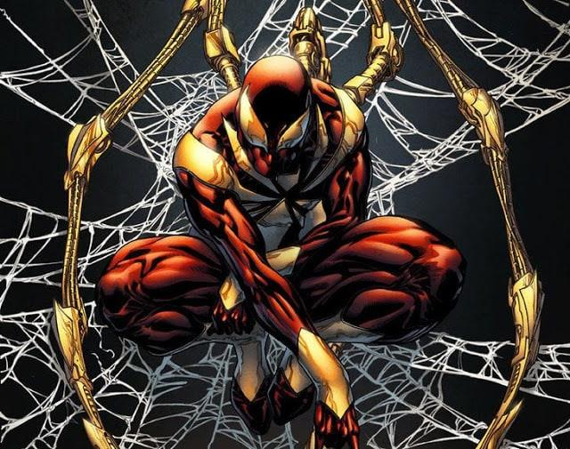 Ecco la leggendaria armatura Iron Spider