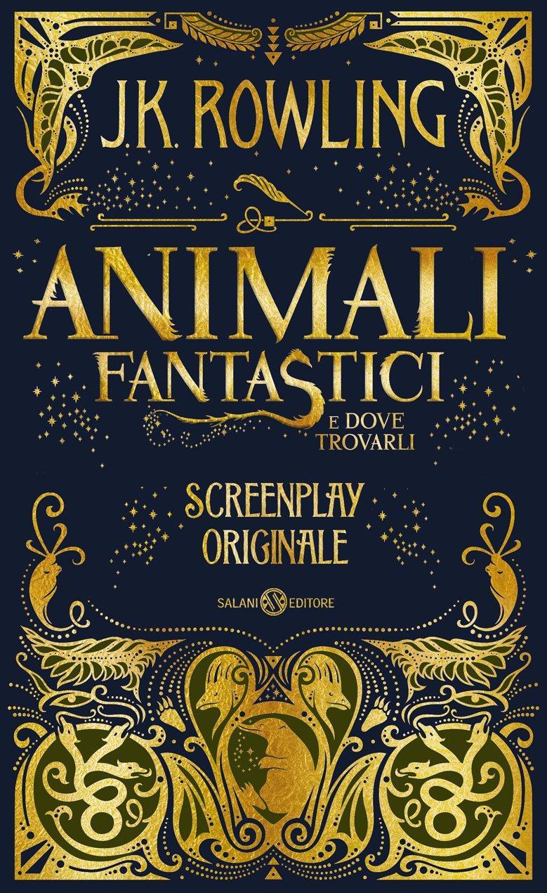 La copertina misteriosa di Animali fantastici e dove trovarli