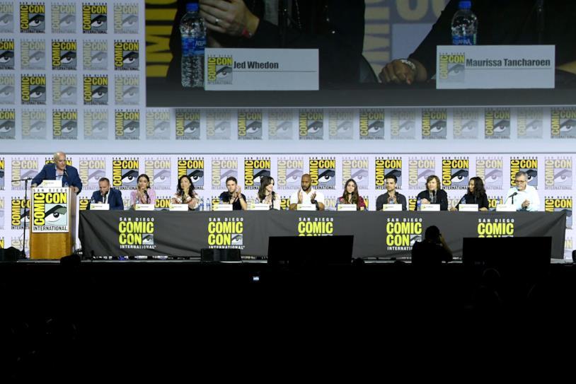 Il cast di Agents of S.H.I.E.L.D. presente al SDCC 2019