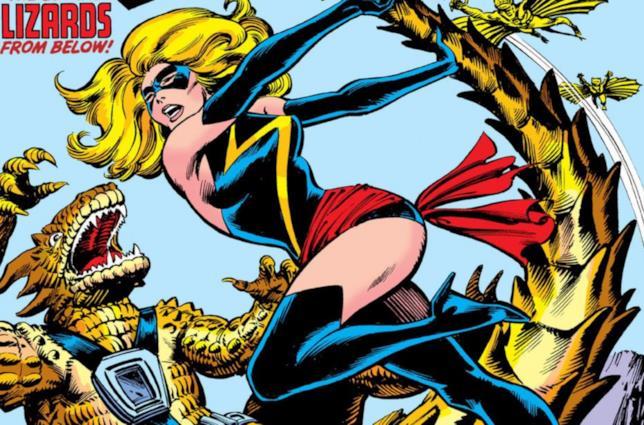 Dettaglio della cover di Ms. Marvel #20