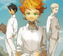 I protagonisti di The Promised Neverland