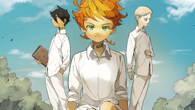 the promised neverland  The Promised Neverland: gadget esclusivi per l'uscita nelle ...