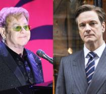 Elton John e Colin Firth