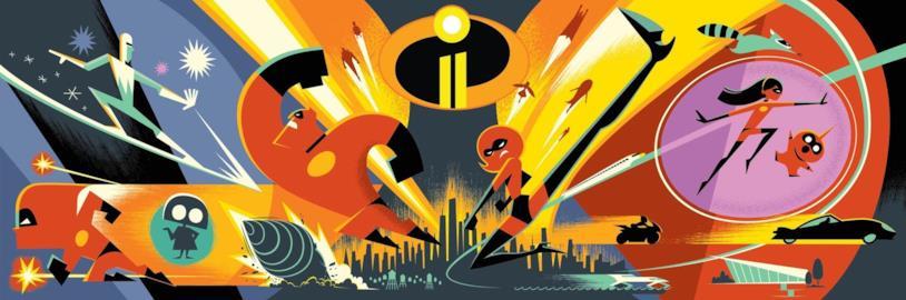La concept art de Gli Incredibili 2 a cura del talentuoso Eric Tan
