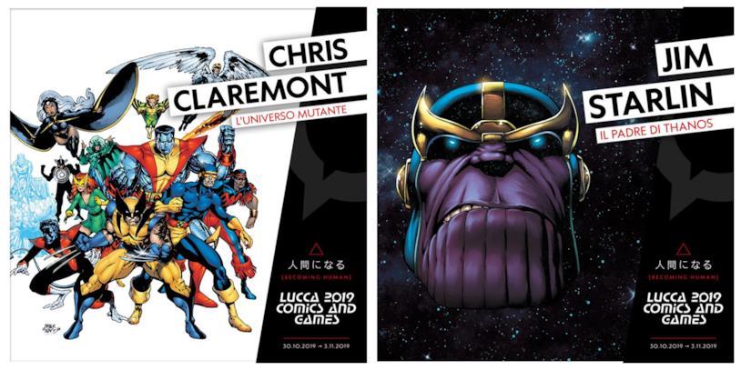 Gli annunci di Chris Claremont e Jim Starlin ospiti a Lucca 2019