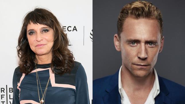 La regista Susanne Bier e l'attore Tom Hiddleston