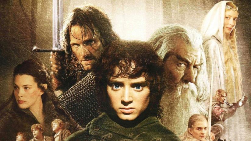 Il poster del film Il Signore degli Anelli - La Compagnia dell'Anello