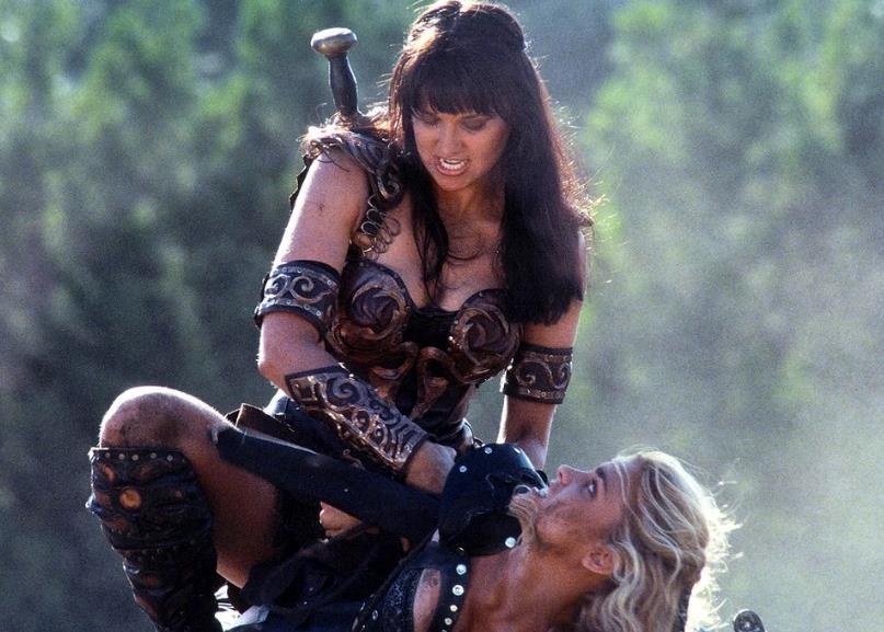 Xena e Callisto si scontrano nella prima stagione