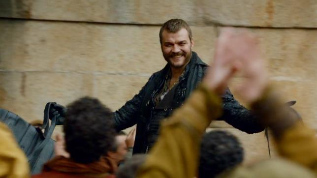 Euron GryJoy arriva ad Approdo del Re in Game of Thrones 7x03