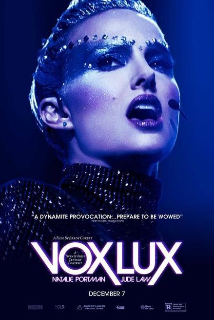 Natalie Portman nel poster ufficiale di Vox Lux