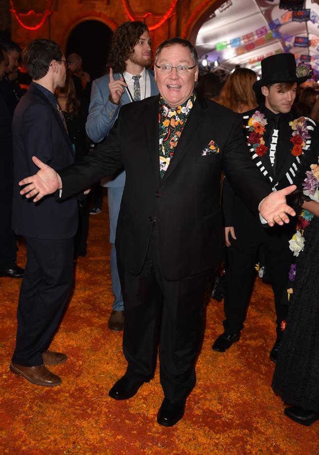 John Lasseter alla prima di Coco