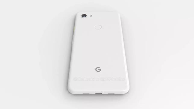 Render del Pixel 3a di Google