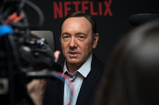 Kevin Spacey a un evento di House of Cards