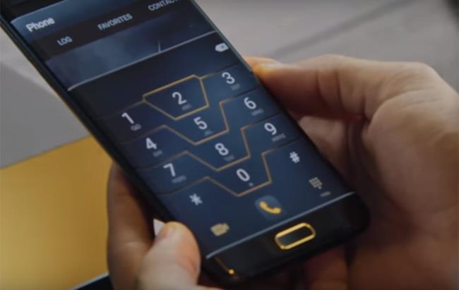 L'interfaccia del Samsung Galaxy S7 Edge Injustice Edition