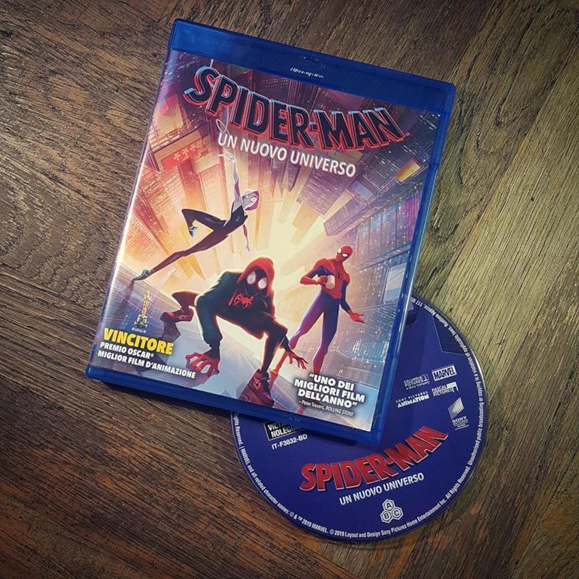 Spider-Man: Un nuovo universo in Blu-ray