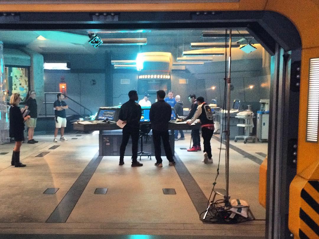 Scott Eastwood e John Boyega sul set australiano di Pacific Rim 2