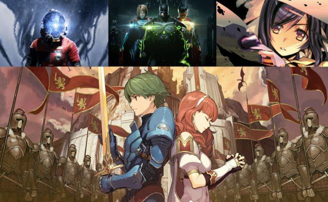 Alcuni dei protagonisti dei videogame in uscita a maggio 2017