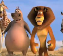 Madagascar 2 i personaggi