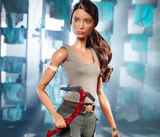 La Barbie ufficiale di Tomb Raider