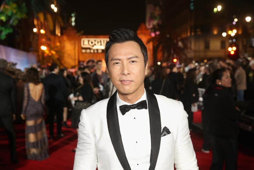 Donnie Yen all'anteprima mondiale di Rogue One: A Star Wars Story