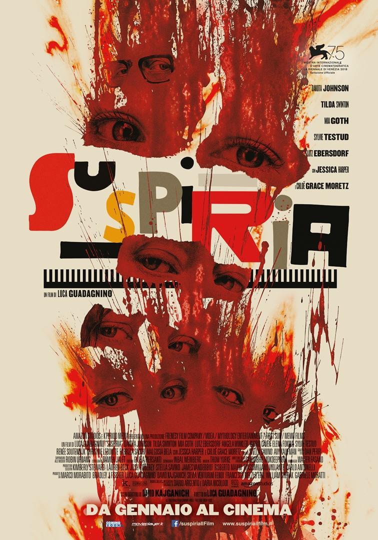 Poster italiano di Suspiria
