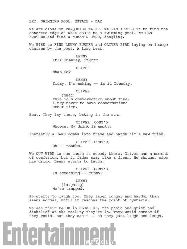 Lo script della stagione 2