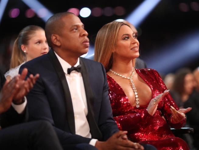 Beyoncé ai Grammy con Jay Z