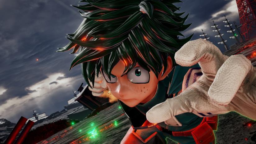 Izuku combatte in Jump Force