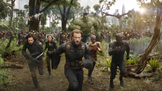 Uno screencap tratto dal trailer di Avengers: Infinity War
