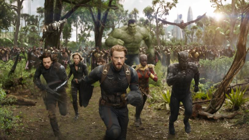 Uno screencap tratto dal trailer di Avengers: Infinity War
