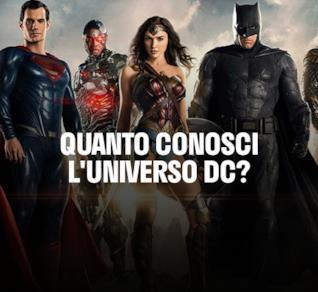 Quando conosci l'Universo DC? 100 domande per scoprirlo