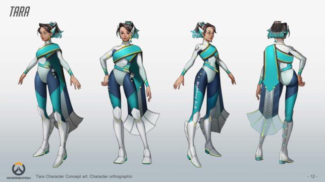 L'eroina creata da un fan di Overwatch