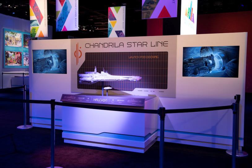 Star Wars: Galactic Starcruiser: la nave Halcyon