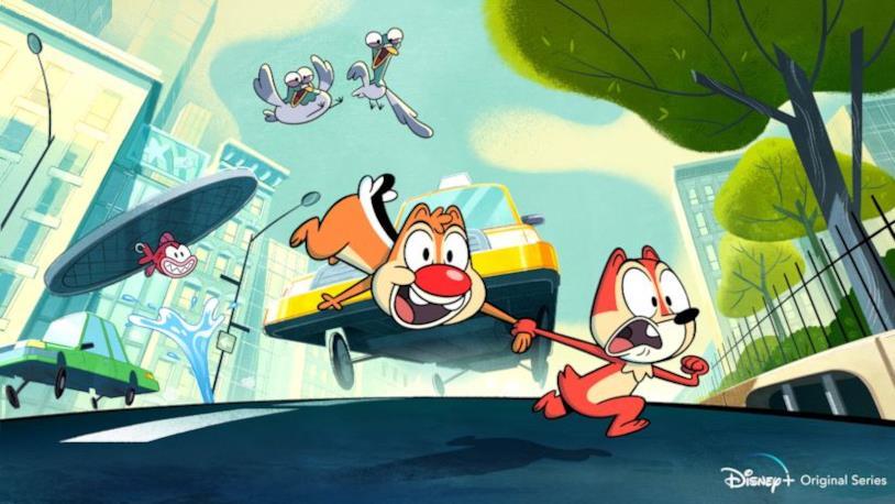 La prima immagine della nuova serie animata su Cip & Ciop