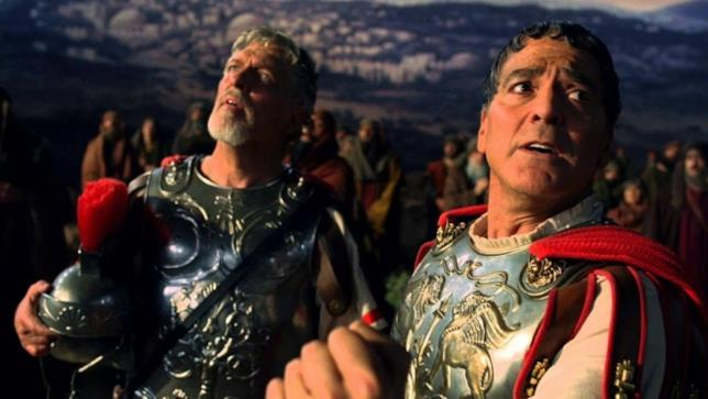George Clooney in una scena di Ave, Cesare!