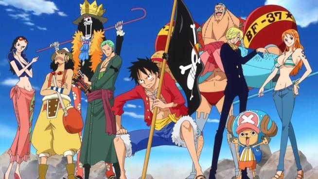 One Piece gruppo protagonisti