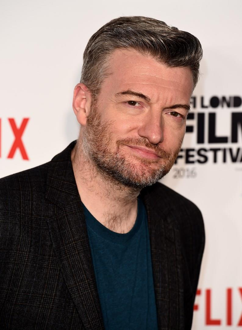 Charlie Brooker in primo piano